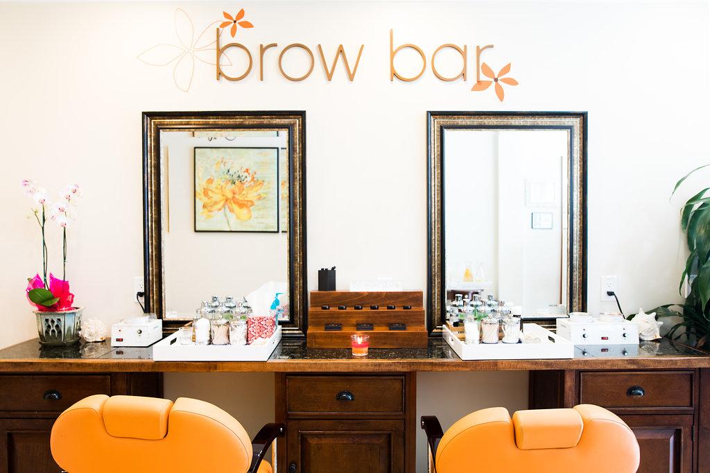 Brow Bar of the waxing company