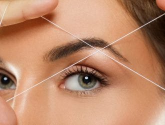 Threading eyebrow image for the waxing co