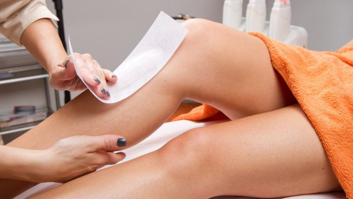 Leg wax image for the waxing co